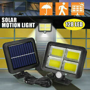 Commercial 128000lm Solar Street Light Ip65 Waterproof Dusk To Dawn Lamp Outdoor