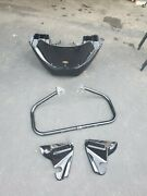 Wedge Motorcycle Fairing Ii W/ Mounting Frame Engine Guard And Windshield
