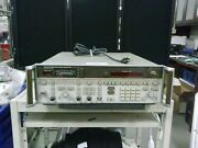Hp Hewlett Packard 8673b Synthesized Signal Generator 2.0-26.0 Ghz With Manual