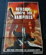 Hercules In The Haunted World French Movie Poster Original 4763 1961