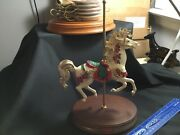 """Coca Cola 2020 Franklin Mint Large Carousel 11"""" X 7"""" - Look Beautiful Roses"""