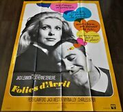 The April Fools French Movie Poster Original 4763 1969