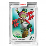 2021 Topps Project 70 Card 257 Dennis Eckersley - By Alex Pardee