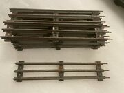 Vintage Lionel Track Lot Of 12 Straight And 15 Curved +1 Curved /ctc Lockon And More