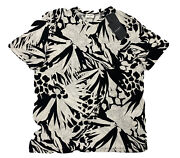 500 Saint Laurent Jungle Cotton T-shirt Size Xl Made In Italy