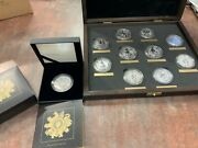 Queenandrsquos Beastandrsquos Complete 11 Silver Coin Collection Including The Completer