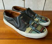 Givenchy Graphic Urban Future Slip-on Low Top Skate Sneakers/shoes - Us 11 Eu 44