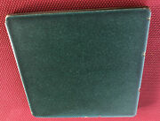"""Rookwood Arts And Crafts Field Tile Matte Green Blue Mission Pottery 6""""-6"""" Nice"""