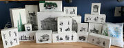 Dept. 56 Heritage Village Collection Lot Of 20 - In Original Boxes