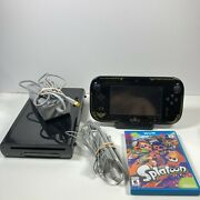 Nintendo Wii U Gamepad Console Legend Of Zelda Wind Waker Edition Wup-010 And Game
