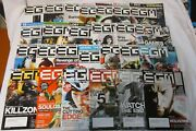 Lot Of 26 Electronic Gaming Monthly Egm 2007 And 2008 Full Year Sets + Jan. 2009