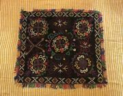 Rare Lakai Embroidered Textiles Antique Tablecloth Home Decorations Wall Hang