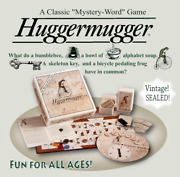 Huggermugger Classic Unique Game Of Skill And Chance For All Ages New Sealed Gift