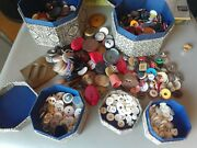 Huge Lot Of Buttons - Collection Of Antique Vintage Modern Mixed Assorted 2 Lb