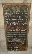 New Christmas Picture Signwall/mantelprimitive/french Country Farmhouse Decor