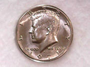 1971-d Kennedy Half Dollar Us Almost Uncirculated Very Nice Coin Xf/au