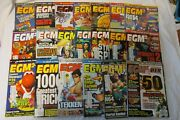 Lot Of 20, Electronic Gaming Monthly2 Egm2 31-50 1997 Jan.- Dec. And1998 Jan.-aug