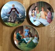 Set Of 3 Plates By Knowles Sound Of Music My Favorite Things Edelweiss