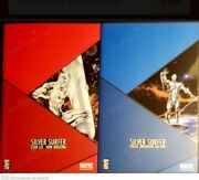 Silver Surfer Turkish Edition Comic 2 Books Ultra Rare 2x244 Pages