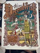 The Decemberists Poster May 5 2005. Theater Of Living Arts Philadelphia Pa.