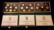1984 1985 1987 Royal Mint Uk Proof Coin Collection Sets United Kingdom