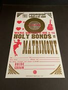 Hatch Print Diy Marriage Certificate 2011 Hatch Show Print Poster