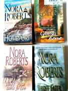Nora Roberts Lor Of 4 Paperback Bookshomeportthree Fates Table For Twogoing