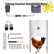 Timing Control Automatic Door Chicken House 110-220v Opening Farm Accessories