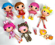 Lalaloopsy Littles Little Sister Dolls Lot Of Babies And Littles + Accessories