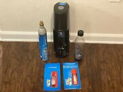 Sodastream Fizzi Sparkling Water Maker W/ Empty Cylinder Bottle And Manual