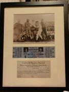 Jack Johnson Original Ticket To The Jim Flynn Fight And Train Ticket Application