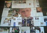 Royal Family Lady Diana Magazine Clippings Princess Of Wales Pack 3