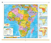 Nystrom Political Relief Map Africa