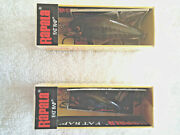 Rapala --- Red Craw Fat Rap Crankbait Lot Of 2 1 Each Fr-5 And 7-ireland