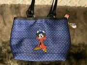 Harveys Disney Sorcerer Mickey And Broom Carriage Ring Tote.