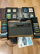 Tested Working Atari 2600 Console With 34 Games And All Working No Controllers