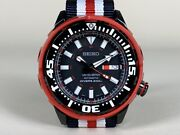 Rare Seiko Red Baby Tuna Limited Edition Automatic Watch Srp233 In Full Set