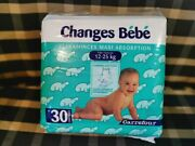 1 Pack Vintage Junior Diapers Plastic Backed No Pampers Abdl Couches Vtg