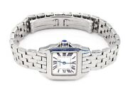 Santos Demoiselle 20mm Small Dial Stainless Steel 6.25 Estate