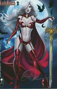Lady Death Merciless Onslaught 1 Signed By Billy Tucci Coffin Comics 2017 Eb200