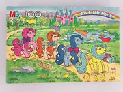 """Vintage My Little Pony To Castle"""" 100-piece Puzzle 1989 Complete In Box 4576-12"""