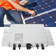 Solar Photovoltaic Power System Wvc‑1600 Micro Inverter 120/230v Automatic Id Mn