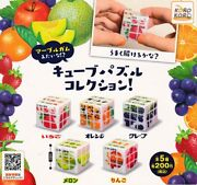 Ip4 Marble Gum Cube Puzzle Collection All 5 Type Set Gashapon