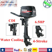 6.5hp Outboard Motor Fishing Boat Sail Boats Engine 4-stroke Water Cooling Cdi