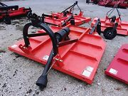 New Tri 6 Ft Super Hd.brush Cutter -3 Pt.free 1000 Mile Delivery From Ky