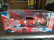 The Dukes Of Hazzard General Lee 1969 Charger Diecast 118 Very Rare Bo Auto