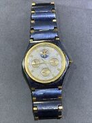 Corum Admirals Cup Perpetual Calendar Watch Solid Tungsten And 18kt Gold Look