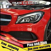 For Benz Cla Left Or Right Headlights Assembly Led Dynamic Turn Signal 2014-2019