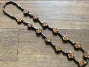 Antique Old Venetian African Trade Beads Matched Tabular Millefiori Rare