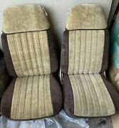 Your In The +++ Pontiac +++ Driverpassenger And Rear Seat Set +++